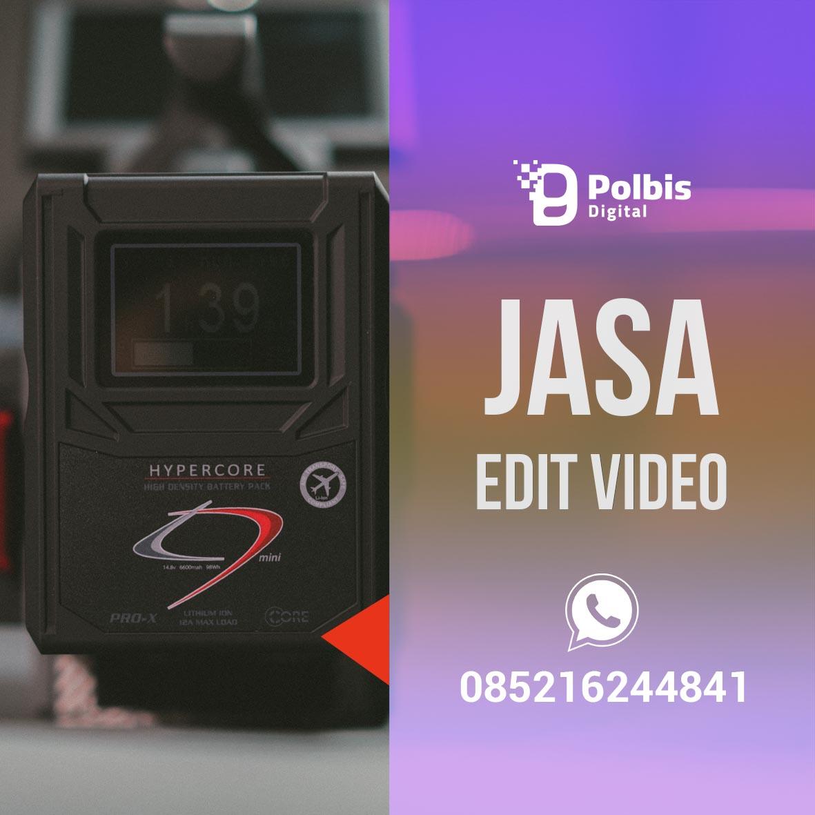JASA EDIT VIDEO MURAH DAN BERKUALITAS DI DENPASAR