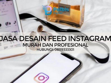 JASA PEMBUATAN DESAIN FEED INSTAGRAM PROFESIONAL